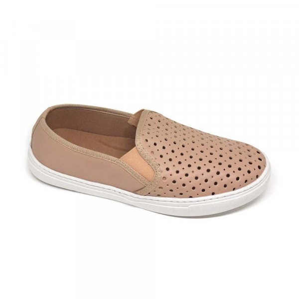 MULTI SLIP ON FURADINHO ROSE